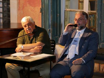 Πάτρα: Παρουσιάστηκε το δοκίμιο του προέδρου του «Κύκλου Ελλήνων Λογοτεχνών Δικαστών» , εφέτη Δημήτρη Ορφανίδη - ΦΩΤΟ