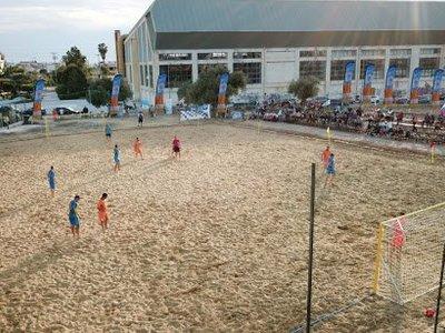 Προπονήσεις στην άμμο για την Ακαδημία των Σπορ