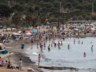 Καύσωνας με 39 βαθμούς στην Κρήτη την Δ...