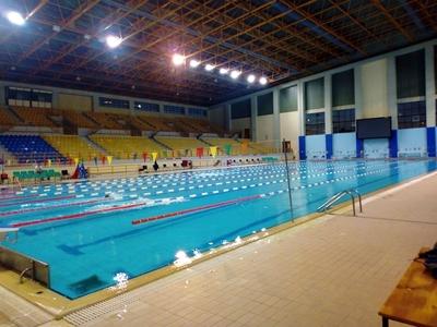 """Αντικατάσταση προβολέων στο κολυμβητήριο """"Α. Πεπανός"""" - ΦΩΤΟ"""