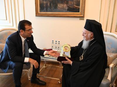 O Οικουμενικός Πατριάρχης επισκέφθηκε &a...
