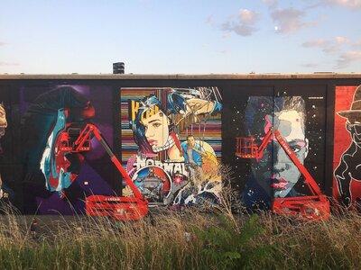 Η 3η τοιχογραφία του Διεθνούς Street Art...