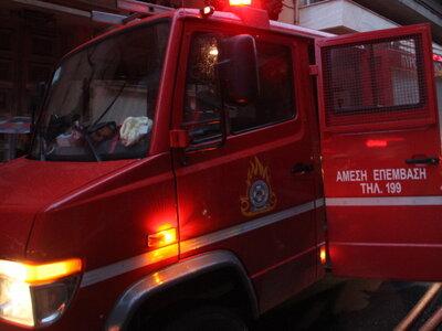 Πάτρα - ΤΩΡΑ: Φωτιά στον καταυλισμό Ρομά...