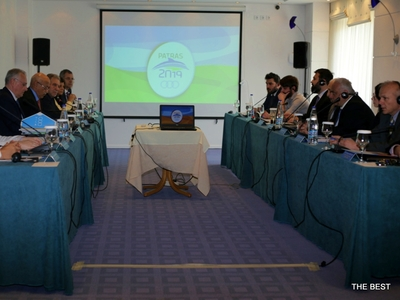 Στην Πάτρα για προγραμματισμένη επιθεώρηση η Διεθνής Επιτροπή Μεσογειακών Αγώνων