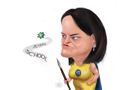 Το άνοιγμα των σχολείων με το πενάκι του Dranis
