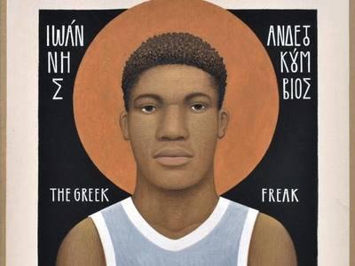"""Μετά το γκράφιτι στην Πάτρα, κεντρίζει με """"Ανδετοκούμβιο"""" κι άλλους Έλληνες"""