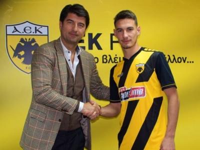 Τριετές συμβόλαιο στην ΑΕΚ ο Ευθύμης Χριστόπουλος