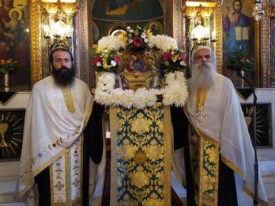 Με λαμπρότητα ο εορτασμός στην Αγία Τριά...
