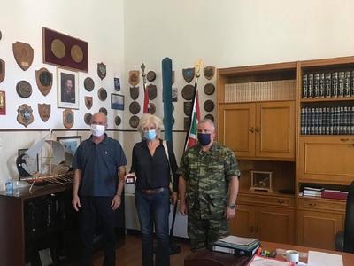 Η Σία Αναγνωστοπούλου επισκέφθηκε το ΚΕΤ...