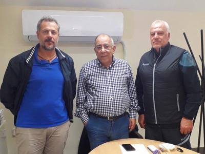Πρωτοβουλίες της διοίκησης του ΠΕΑΚ για γήπεδα beach handball