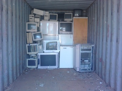 Ανακύκλωση ηλεκτρικών συσκευών όπως κάθε Τετάρτη στο πάρκινγκ Καλετζιώτη