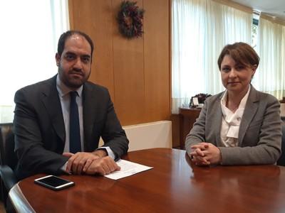 Χρ. Αλεξοπούλου: Υπογραφή  Απόφασης για το Εσωτερικό Δίκτυο του Δήμου Αιγιαλείας