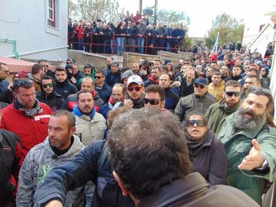 Καλά στην υγεία τους οι Πατρινοί αστυνομικοί που χτυπήθηκαν από πολίτες στην Χίο