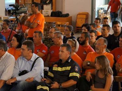 """Σεμινάριο για την """"Διαχείριση Σεισμικού κινδύνου"""" πραγματοποιήθηκε στα Βραχναίικα Αχαΐας -ΔΕΙΤΕ ΦΩΤΟ"""