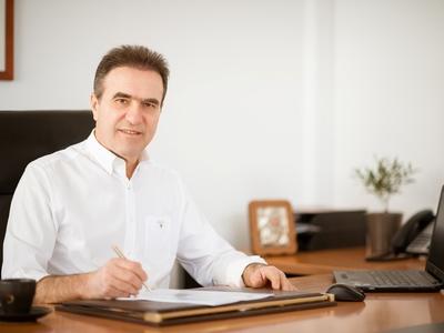 """Γ. Κουτρουμάνης: """"Μεγάλη τιμή και μεγάλη ευθύνη η υποψηφιότητά μου"""""""