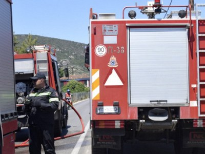 Φωτιά στο Πικέρμι - Συναγερμός στην Πυροσβεστική