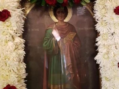Πάτρα: Γιορτάζει ο ναός του Αγίου Παντελεήμονος στο Προάστιο