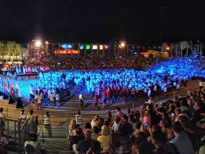 Η μεγάλη γιορτή της Πάτρας! Δείτε live την Τελετή Έναρξης των ΙΙ Μεσογειακών Παράκτιων Αγώνων