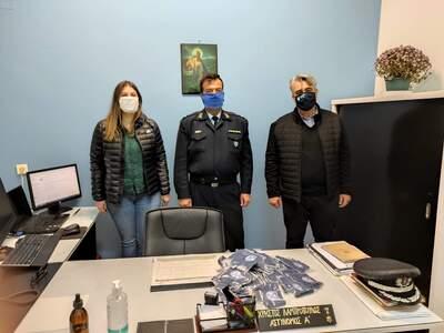 Ο Σύλλογος Αλισσαίων δώρισε μάσκες στους...
