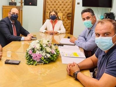Συνάντηση με την Υφυπουργό Υγείας Ζωή Ρά...