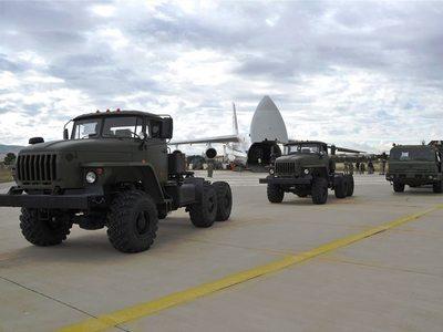 Έφτασαν στην Τουρκία οι S-400 – ΔΕΙΤΕ ΦΩΤΟ