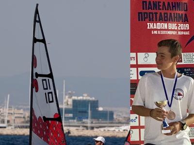 Ο Νικόλας Γεωργόπουλος του ΙΟΠ αναδείχθηκε 3ος πανελληνιονίκης