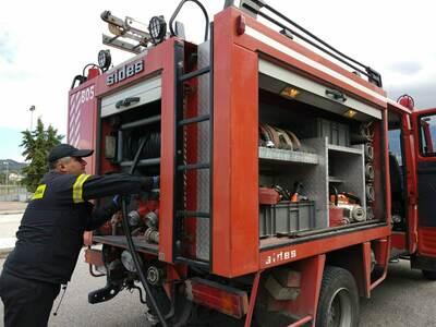 Υπό μερικό έλεγχο η πυρκαγιά στη Ζάκυνθο