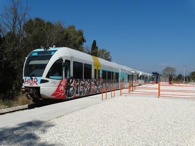Αλλάζει  η στάση του προαστιακού σιδηρόδρομου στο Ρίο