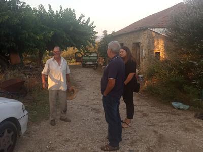 Καταστροφές σε αμπέλια στη Δυτική Αχαΐας