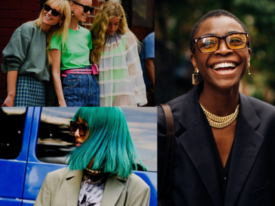Tί φορέθηκε αυτές τις μέρες στη Νέα Υόρκη, έκρηξη χρωμάτων και trends