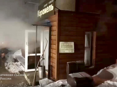 Τραγωδία στη Ρωσία: Πλημμύρισε ξενοδοχεί...