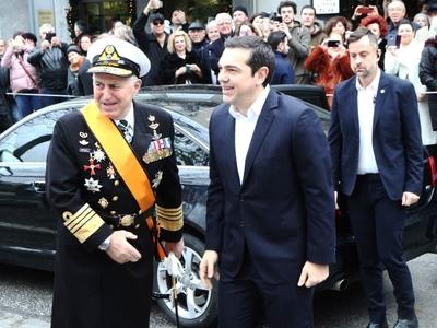 Ο αρχηγός ΓΕΕΘΑ Ναύαρχος Βαγγέλης Αποστολάκης ο νέος Υπουργός Άμυνας