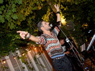 Ο Χρήστος Κωνσταντόπουλος για τελευταία Πέμπτη στον Κήπο του Royal