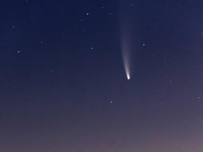 Ο κομήτης NEOWISE πάνω από το Ρίο-Αντίρρ...