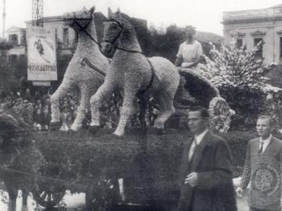 Πάτρα-Νίκος Μαρούδας: Τα άνθινα άρματα στο Πατρινό Καρναβάλι, η ακμή και η πτώση τους - Η άγνωστη ιστορία