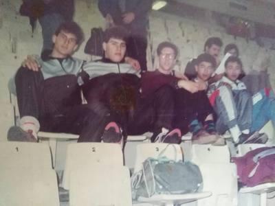 Πατρινοί αθλητές στις κερκίδες του ΣΕΦ πριν από πολλά χρόνια