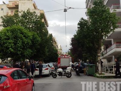 Μεγάλη κινητοποίηση της πυροσβεστικής σε πολυκατοικία στην Πάτρα - Έκρηξη λέβητα - ΦΩΤΟ