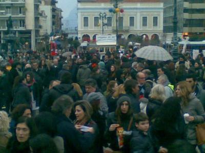 Η Πάτρα λέει το δικό της ΟΧΙ στα μέτρα- Ξεκίνησαν  με παλμό και μεγάλη συμμετοχή οι πορείες