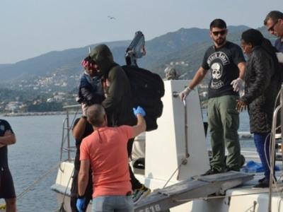 6 νεκροί σε ναυάγιο με μετανάστες ανοιχτά της Λέσβου