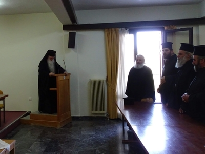 O Mητροπολίτης Αμβρόσιος έκανε Ιερατική Σύναξη στα Καλάβρυτα