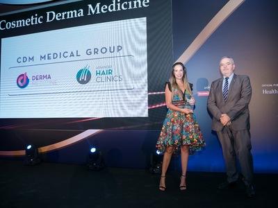 Μία ακόμα σπουδαία βράβευση για τον ελληνικό ιατρικό όμιλο Cosmetic Derma Medicine Medical Group