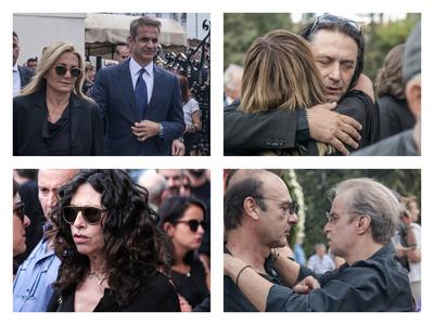 Ήταν όλοι εκεί! Ανείπωτη θλίψη στην κηδεία του Λαυρέντη Μαχαιρίτσα- ΦΩΤΟ