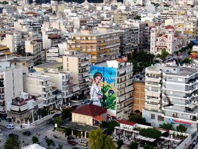 """Οι συμβολισμοί της τοιχογραφίας """"Μεσόγειος"""" του Κλεομένη Κωστόπουλου για τους Μεσογειακούς της Πάτρας"""