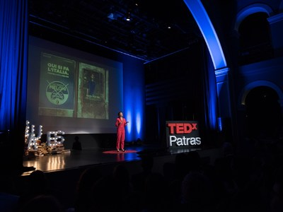 TEDxPatras: Πρωτότυπα εργαστήρια για μικρούς και μεγάλους το Σάββατο 7 Δεκεμβρίου