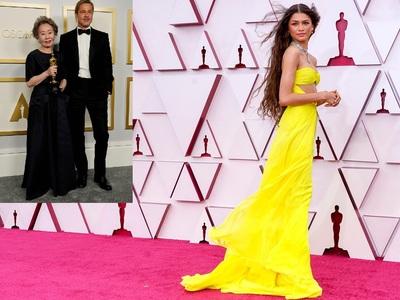 Oscars Red Carpet: Η εκτυφλωτική Ζεντάγι...