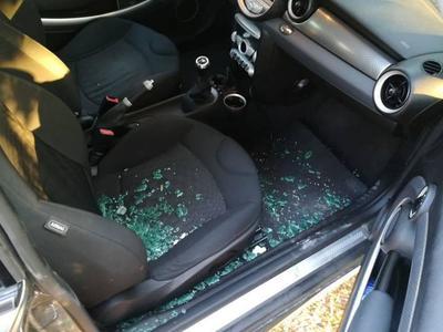 Έσπαγαν τα αυτοκίνητα των λουόμενων σε Ρ...