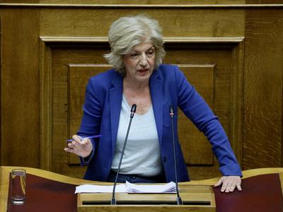 Σ. Αναγνωστοπούλου: Ταχεία οπισθοδρόμηση της ΝΔ στη Μεταπολίτευση και ακόμη πιο πίσω