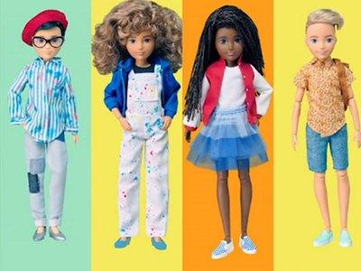 Μία κούκλα που ξεπερνά τις έμφυλες διακρίσεις