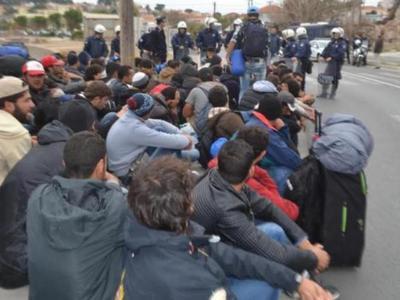 Μυτιλήνη: Συμβολική διαμαρτυρία κατά της δημιουργίας δομής προσφύγων και μεταναστών