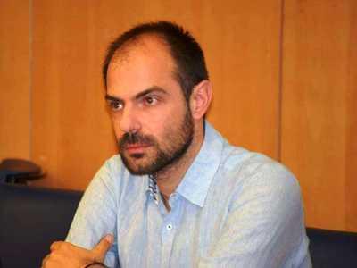 Στην Πάτρα ο επικεφαλής της Δημοκρατικής Συμπαράταξης Μηχανικών (ΔΗΣΥΜ), Νίκος Μήλης